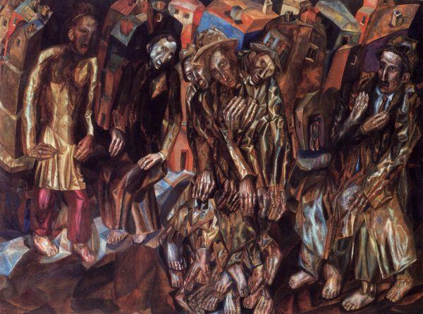 Филонов П.Н. Перерождение человека. 1914–1915
